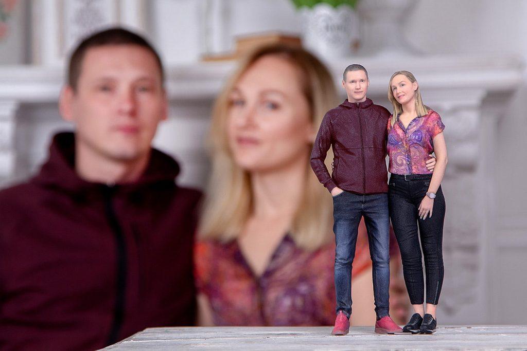 3d figuren familie 3