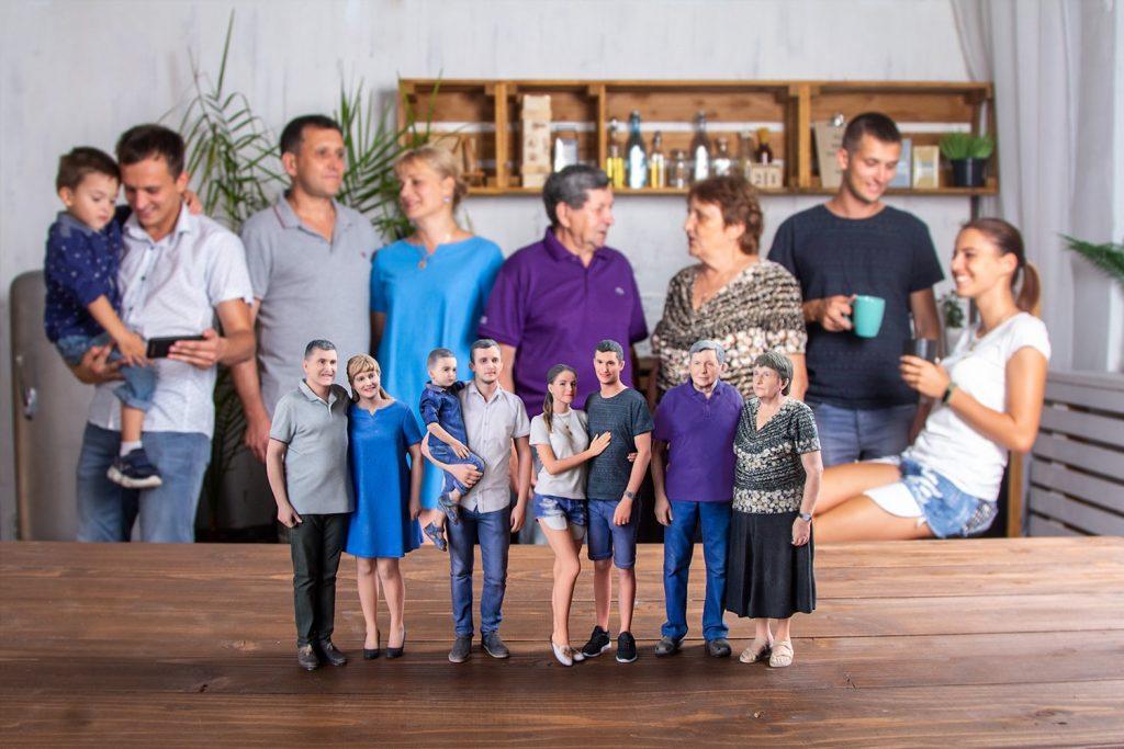 3d figuren familie 6