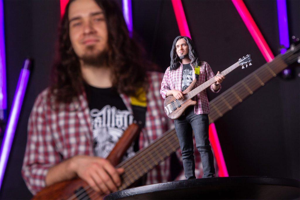 3d figuren Gitarrenspieler