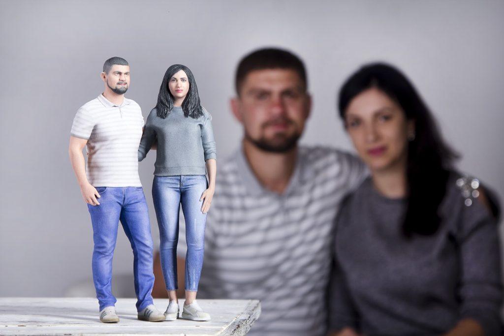 3D Figure Couple 2