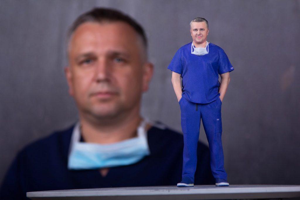 3d figuren doktor 1