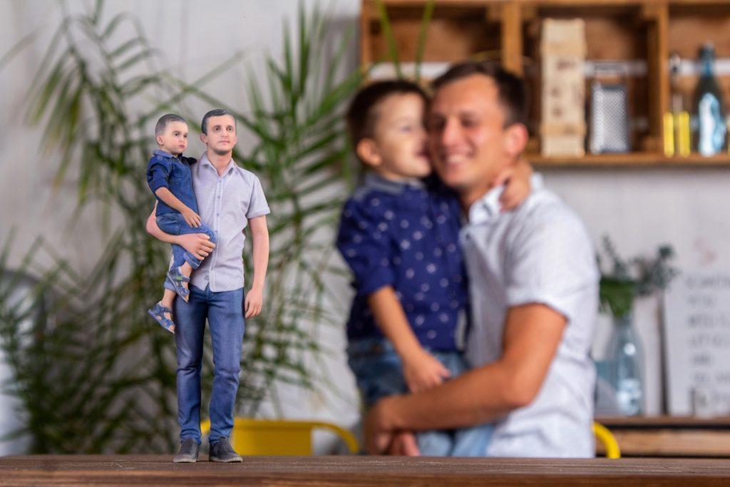 3d figuren familie 2