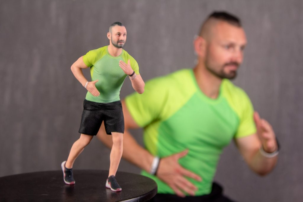 3d figure athlete 2