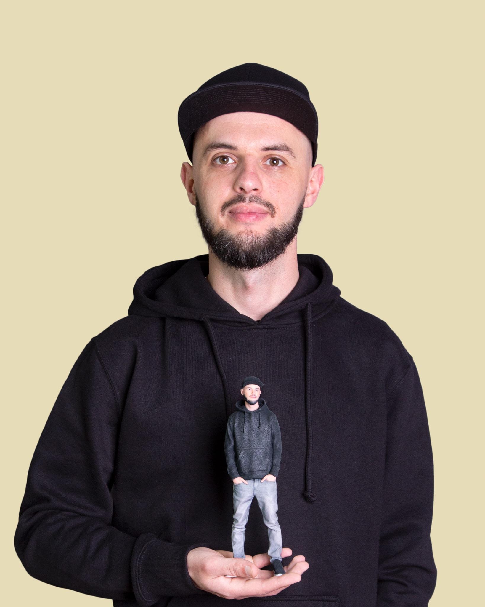 3D-Figur in Bremen