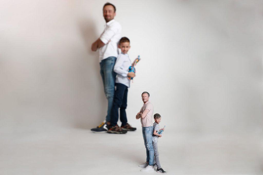 3d figuren familie 7