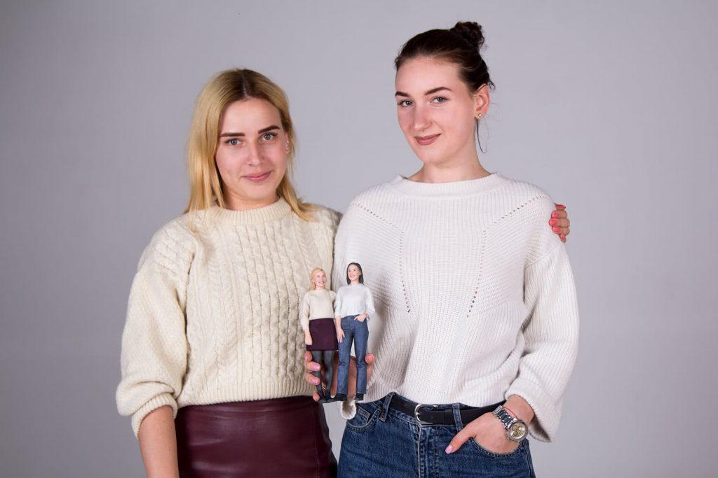 3d figure girls