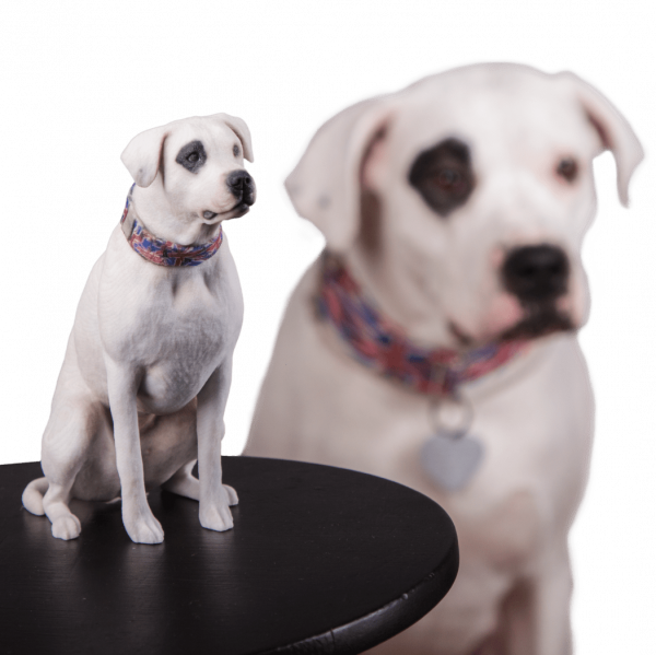 Hund 3D-Figur