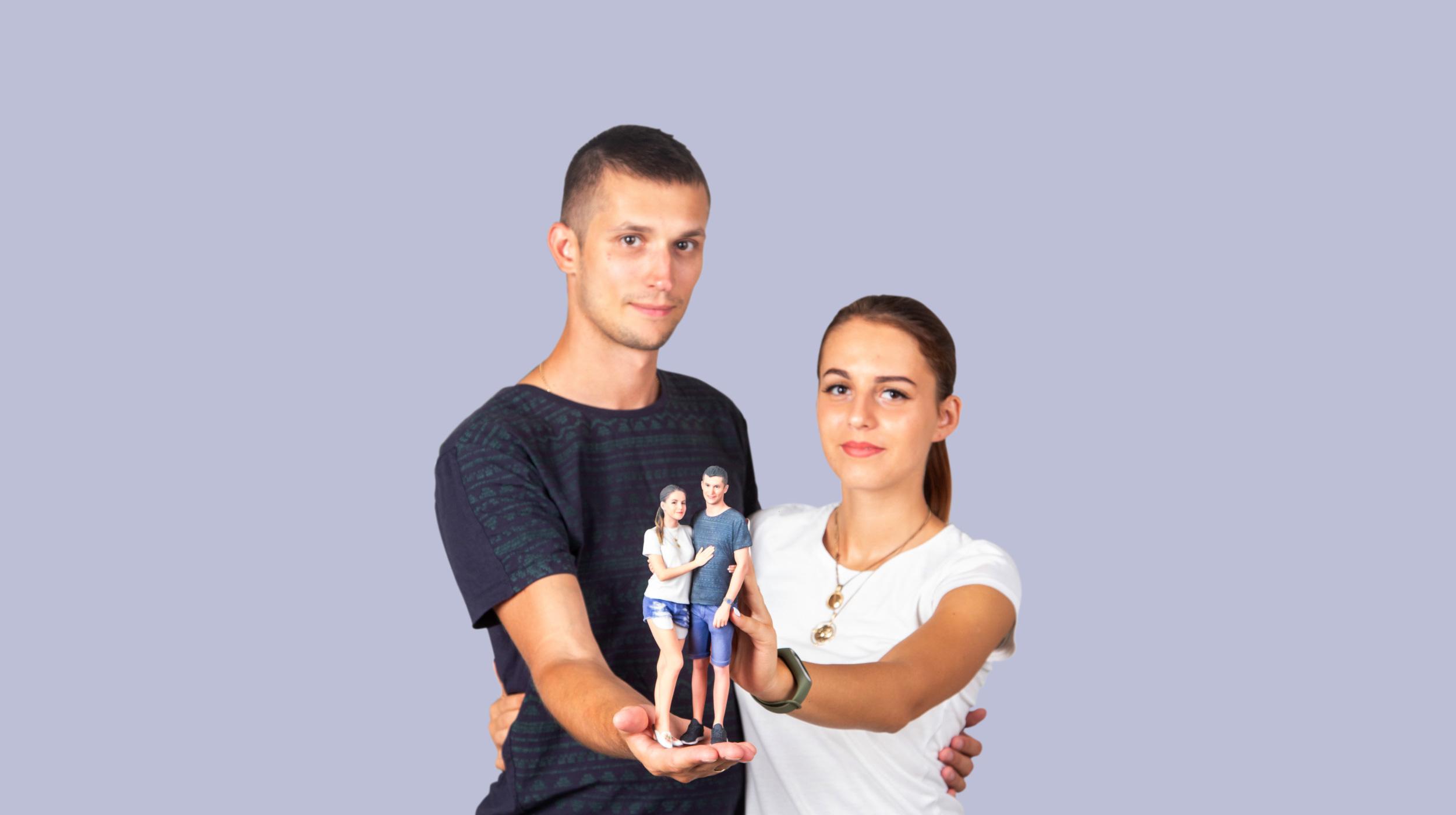 gepaarte 3D-Figur in Vosendorf