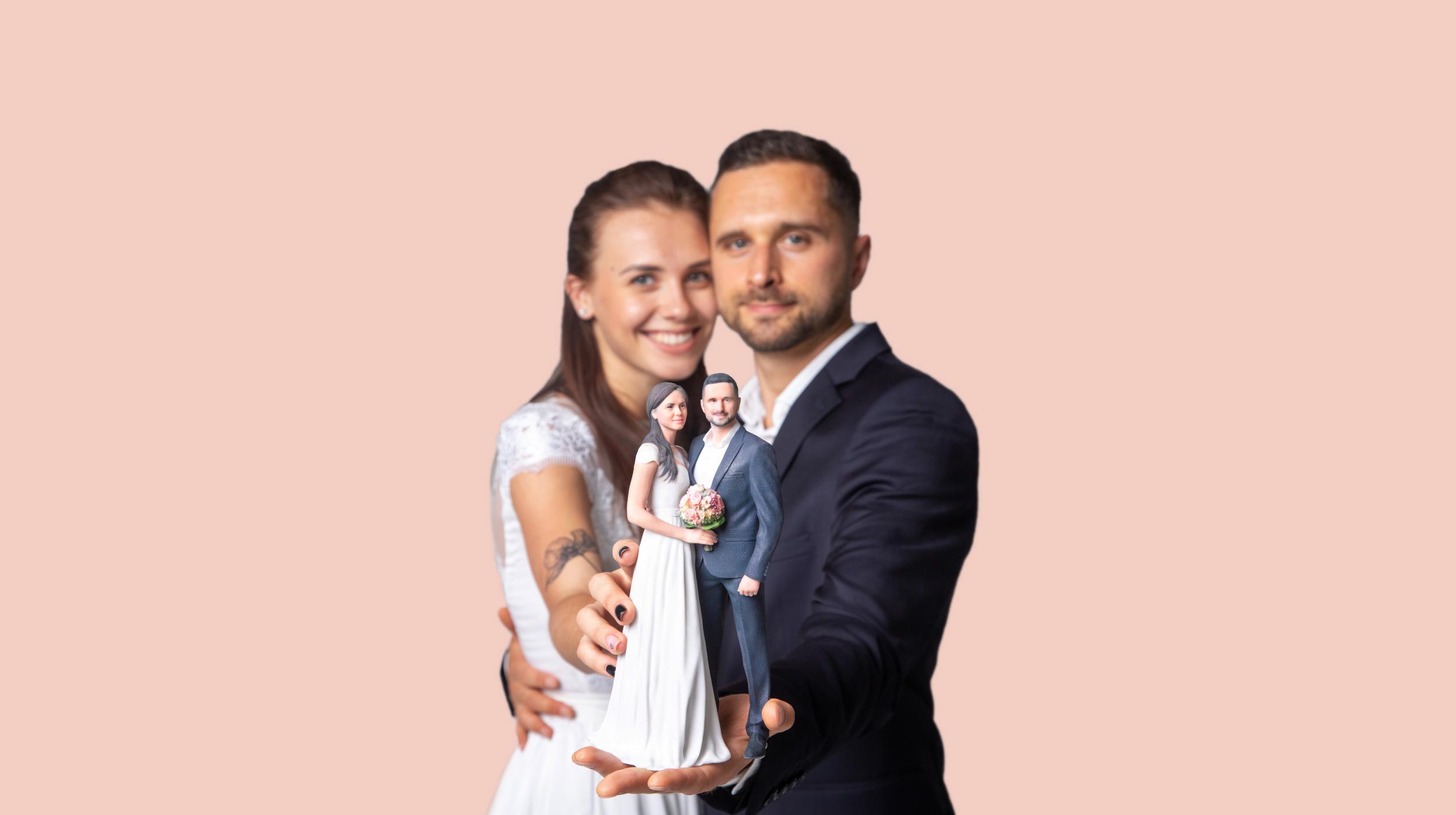 Hochzeit 3D-Fotosession