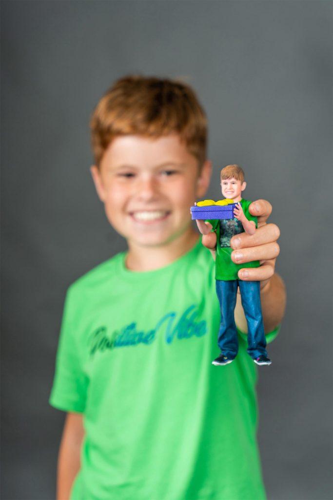 3D-Figur eines Kindes 3