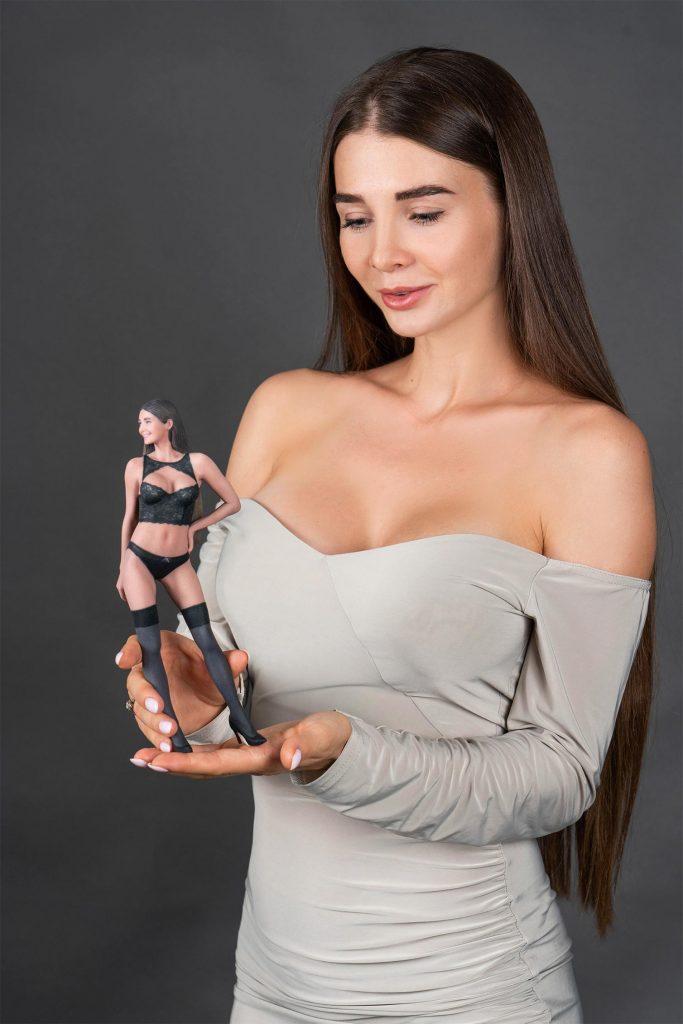 3D figure nude erotic 3